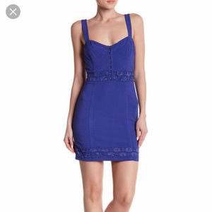Free People Lace Me Up Bodycon Dress